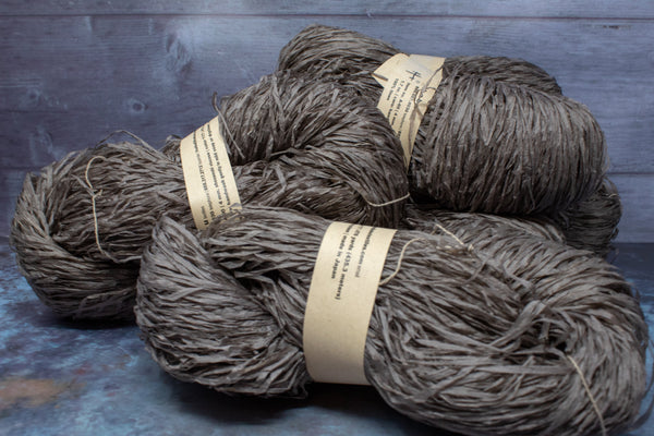 Shosenshi Viscose 100% Linen - Khaki Brown