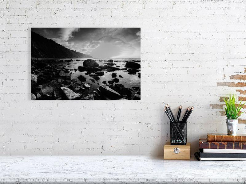 Tidepool at Low Tide, Fine Art Print on Photo Rag Paper - Norlynne Coar Fine Art