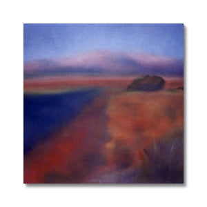 El Rio y la Montaña, Fine Art Print on Canvas - Norlynne Coar Fine Art
