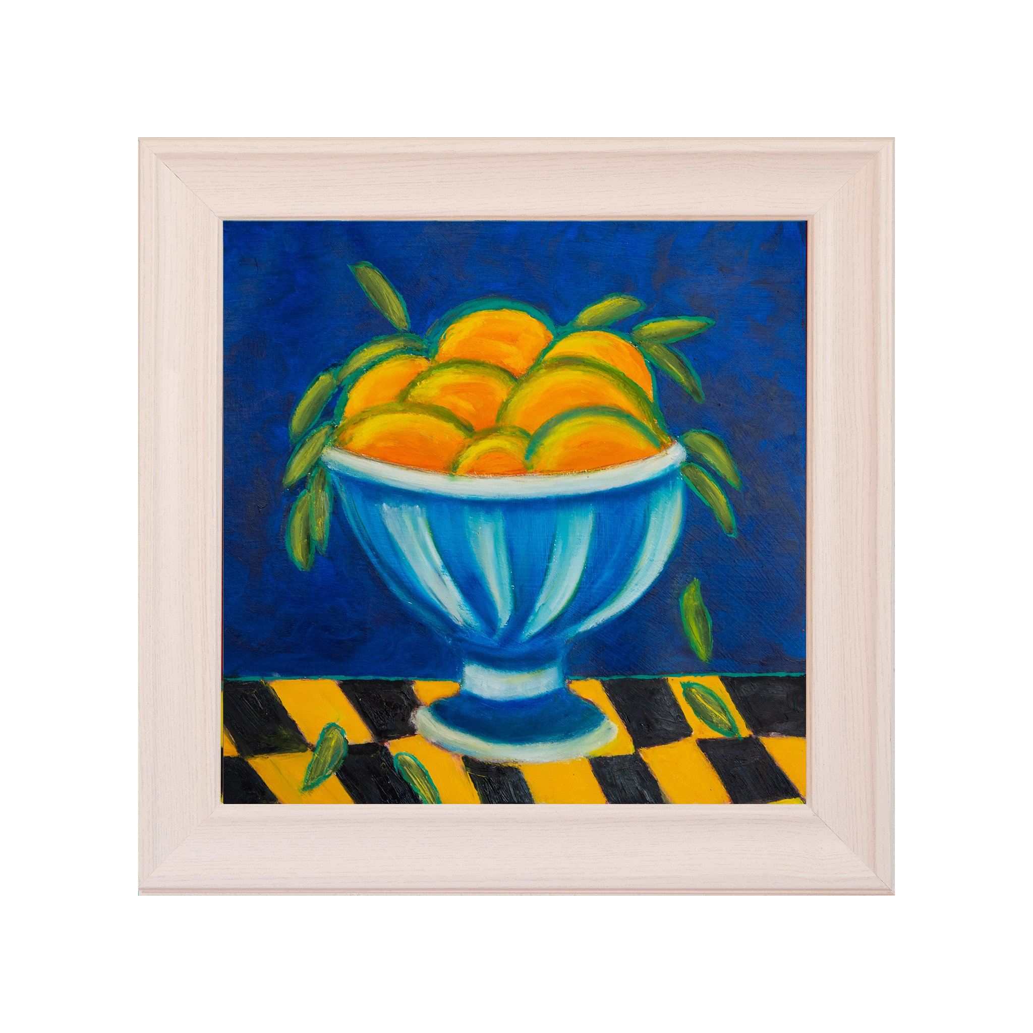ART IN THE TIME OF CORONA: ORANGES IN A BOWL - Norlynne Coar Fine Art