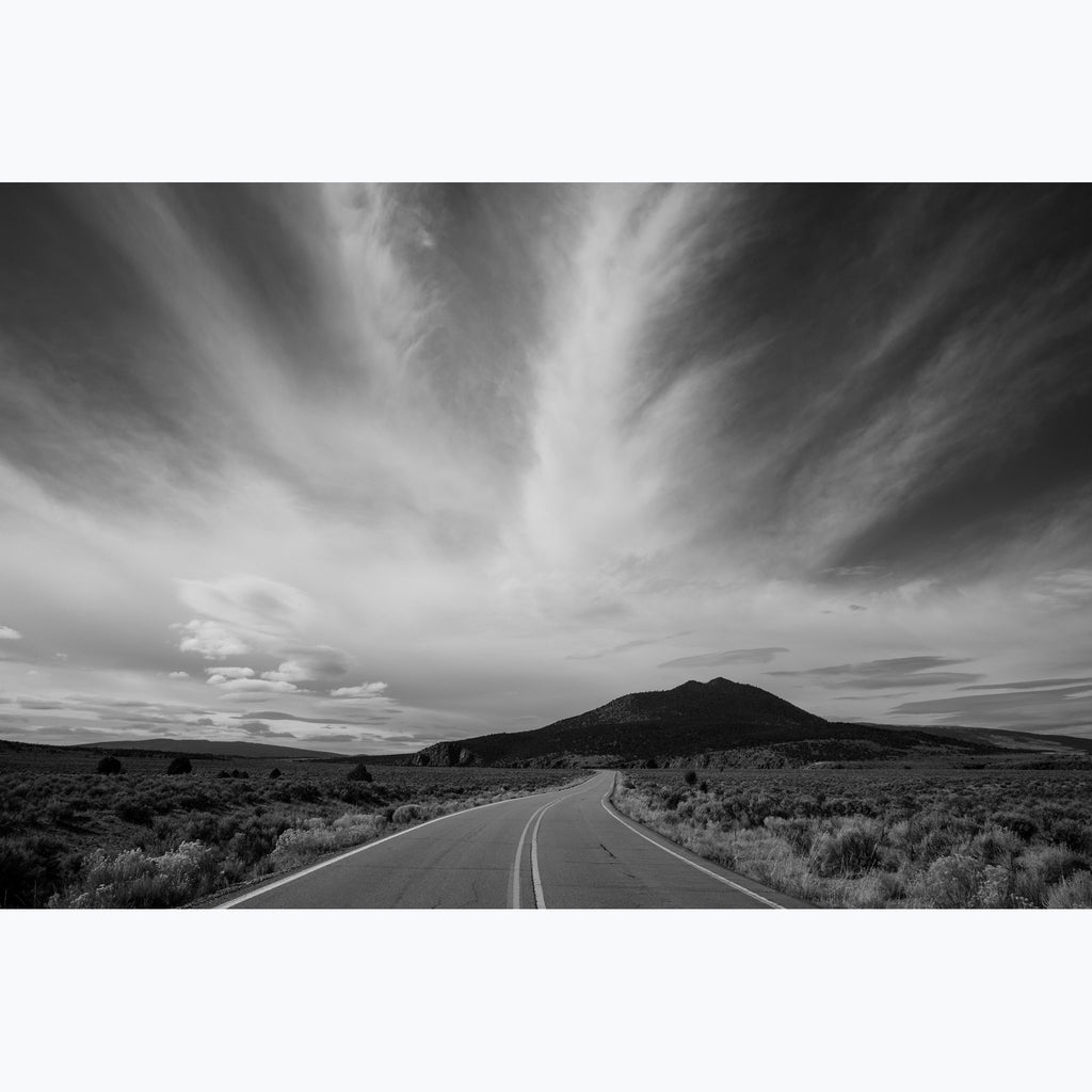 "Road to Two Nibs Atop a Hill, Custom Photo (30""x45"", 24""x36"") - Norlynne Coar Fine Art"