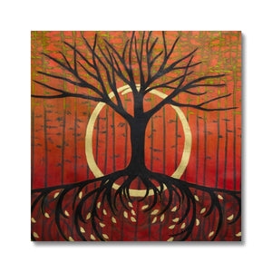 Life of a Tree: Renaissance, Fine Art Print on Canvas - Norlynne Coar Fine Art