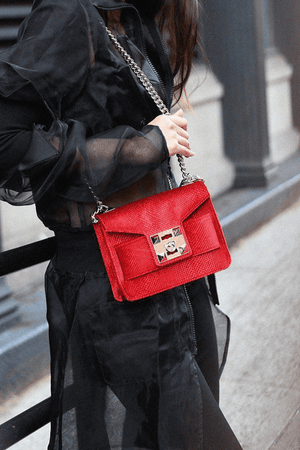 Bags MILA Velvet Shoulder Bag Salar Conspiracy New York