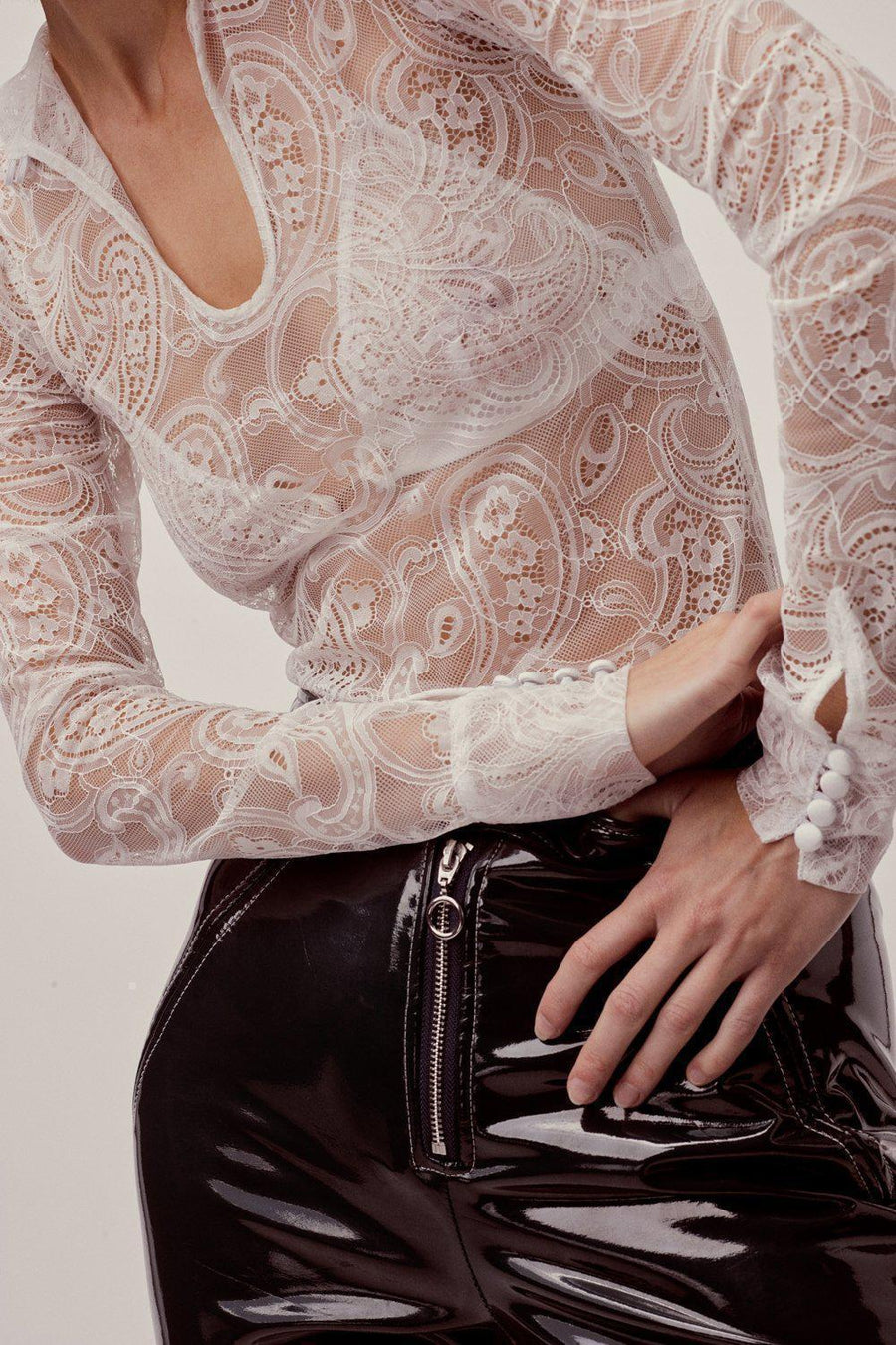 Blouses Belle Lace Layering Blouse For Love & Lemons Conspiracy New York