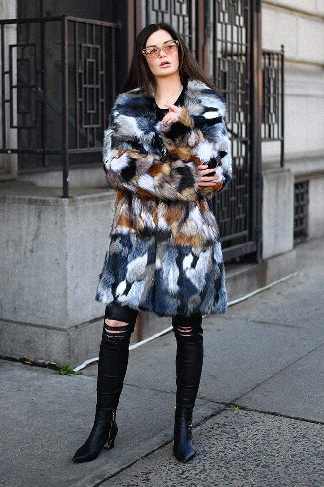 Coats Golda Faux Fur Coat French Connection Conspiracy New York