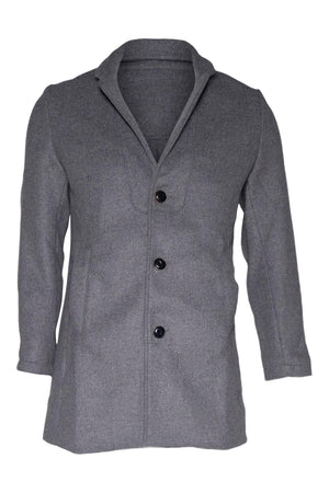 Coats Long Wool Coat JAGVI Conspiracy New York