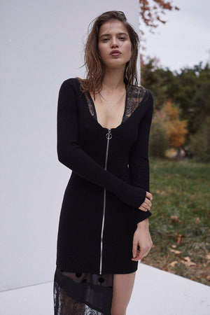 Dresses Annie Zipper Mini Dress For Love & Lemons Conspiracy New York