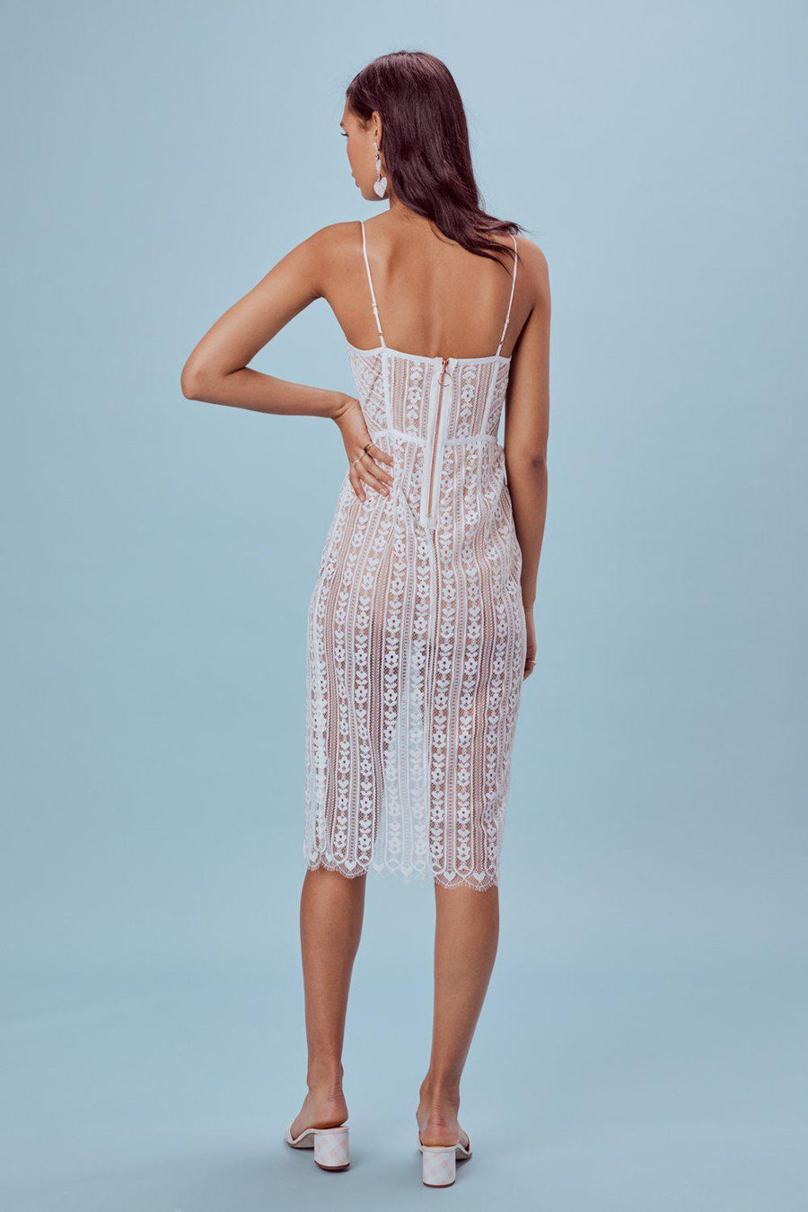 Dresses Dakota Lace Midi Dress For Love & Lemons Conspiracy New York