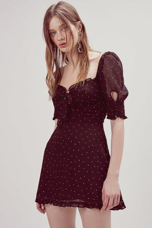 Dresses Lucky Dice Mini Dress For Love & Lemons Conspiracy New York