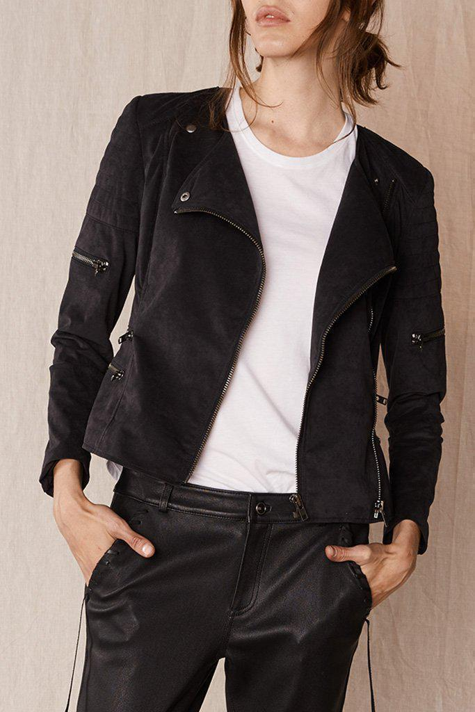 Jackets Greenwich Street Motor Jacket Vegan Suede West 14th Conspiracy New York