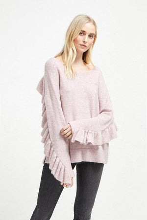Jumpers Emilde Knit Frill Jumper French Connection Conspiracy New York