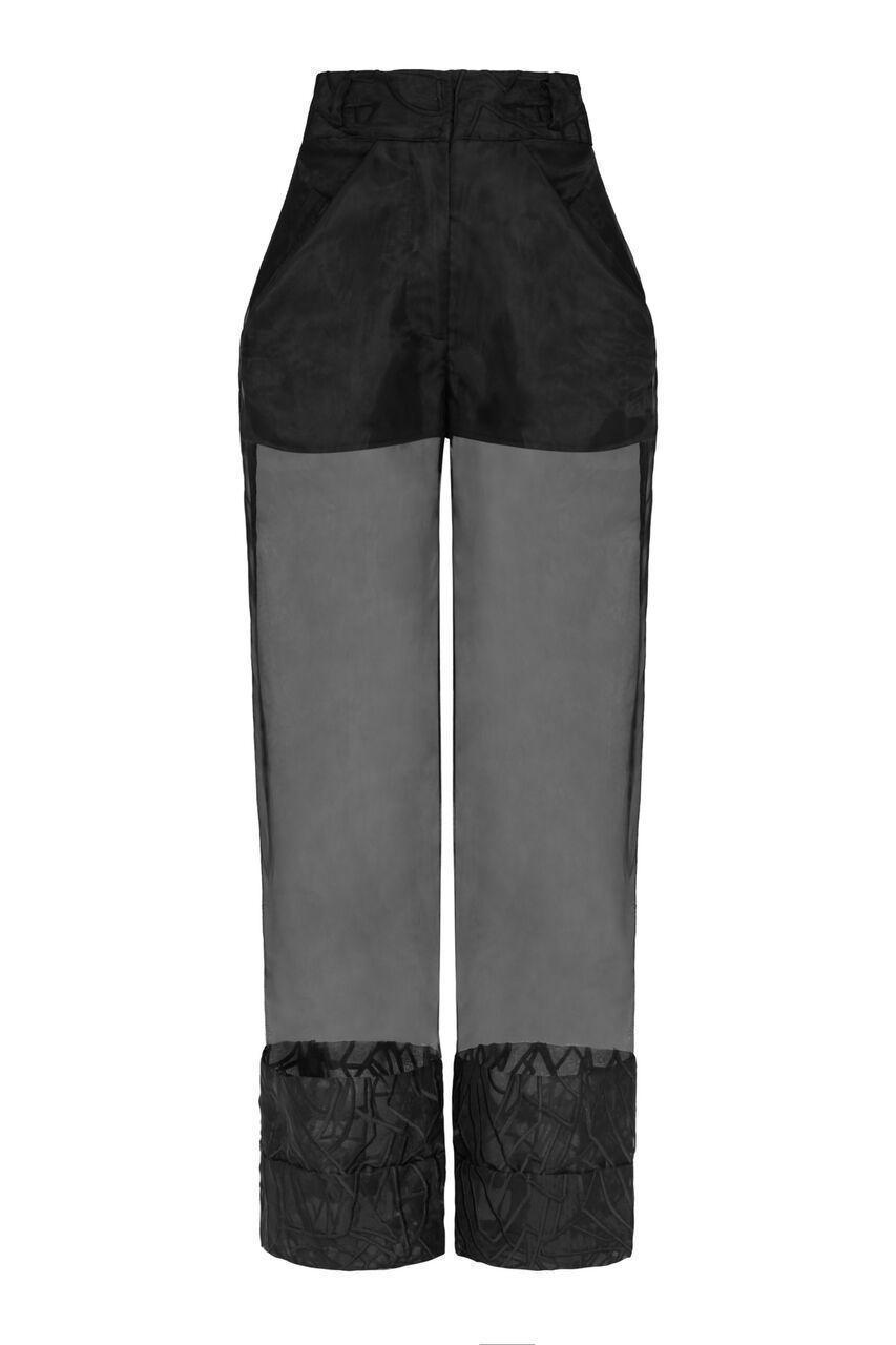 Pants Organza Double Hem Trouser Sadie Clayton Conspiracy New York