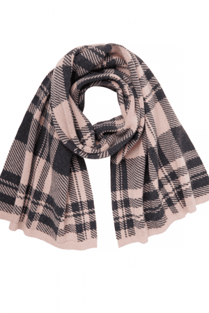 Scarves Check Jacquard Scarf Markus Lupfer Conspiracy New York