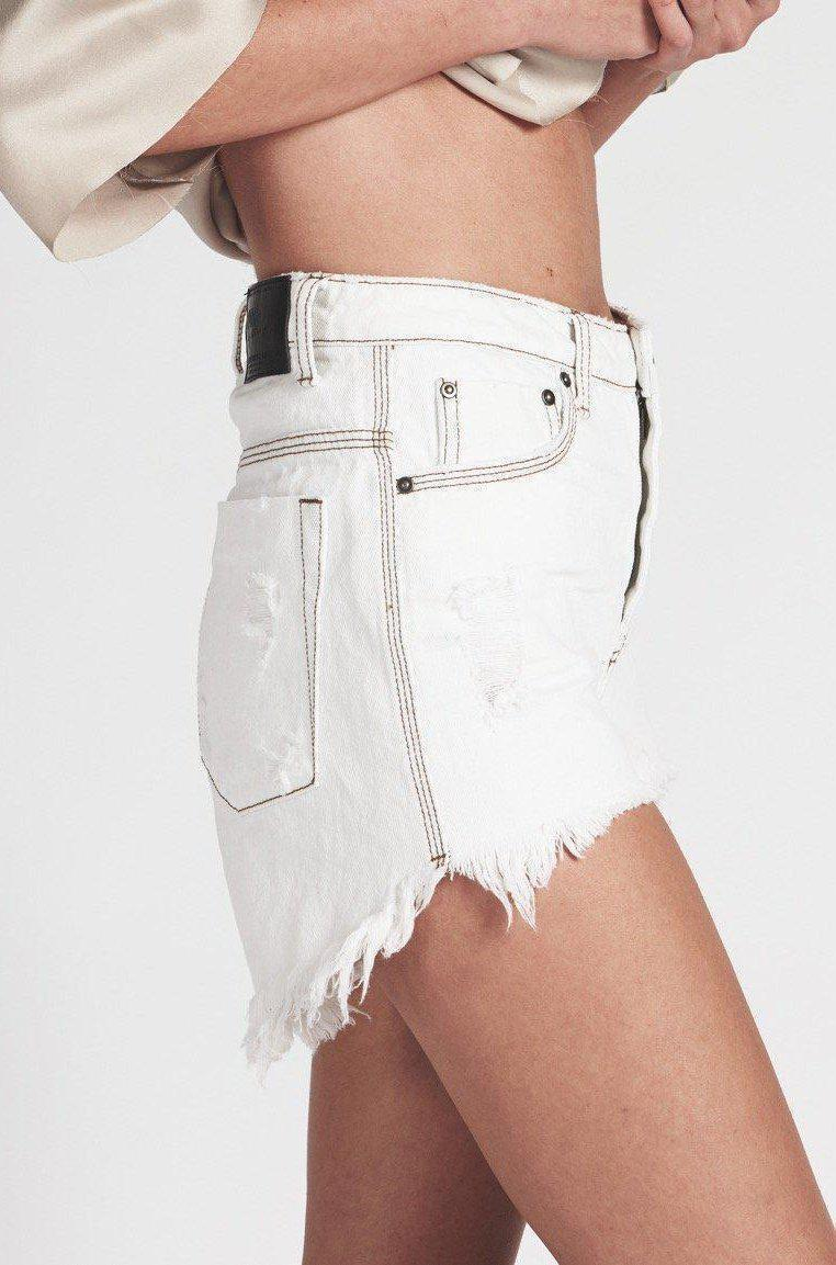 Shorts Coconut High Waist Shorts OneTeaspoon Conspiracy New York