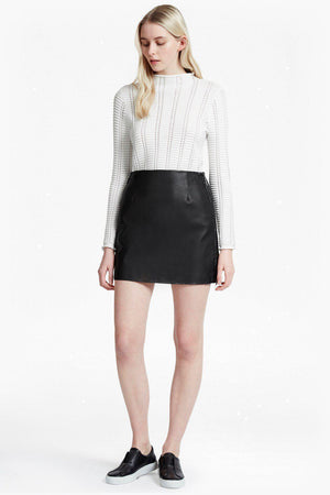 Skirts Brishen PU Side Zip Mini French Connection Conspiracy New York