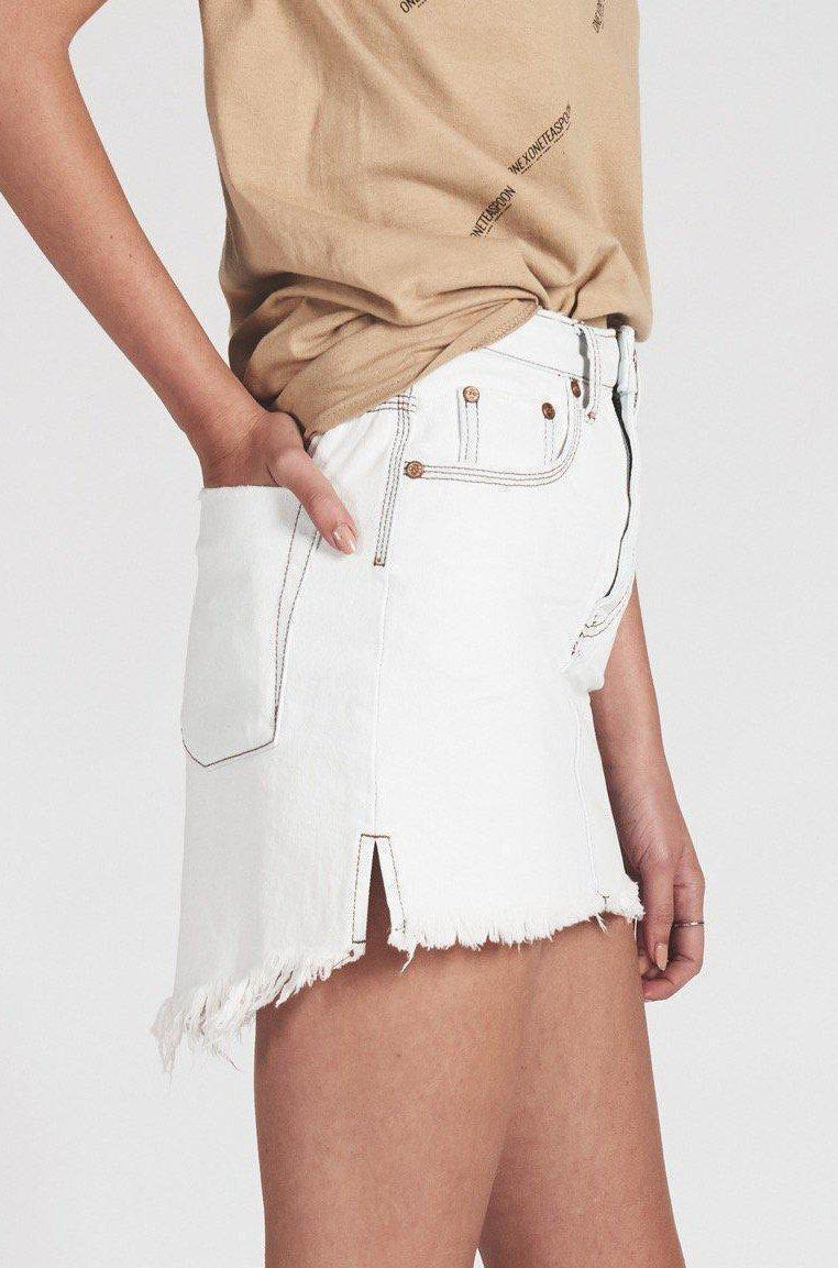 Skirts Coconut Mini High Waist Skirt OneTeaspoon Conspiracy New York
