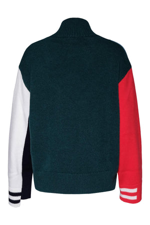 Sweaters Dolcevita Color Block Sweater MRZ Conspiracy New York