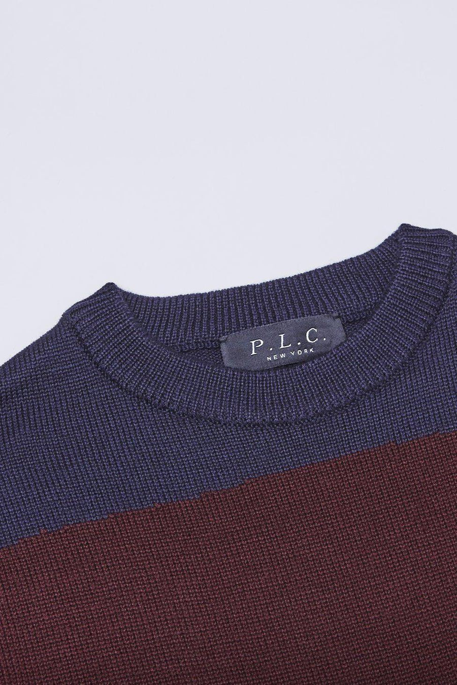 Sweaters Men In Silhouette Wool-Blend Color Block Pullover Project Life Creation Conspiracy New York