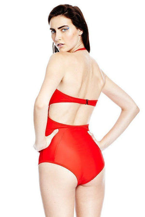Swim X Bustier Suit Chromat Conspiracy New York