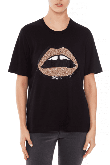 Tees Alex Sequin Lara Lip Tee Markus Lupfer Conspiracy New York
