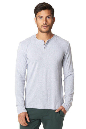 Tees Bamboo Long Sleeve Henley Mitchell Evan Conspiracy New York