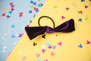 RTS Dark Purple Velvet Hair Tie (Adult Size Only)