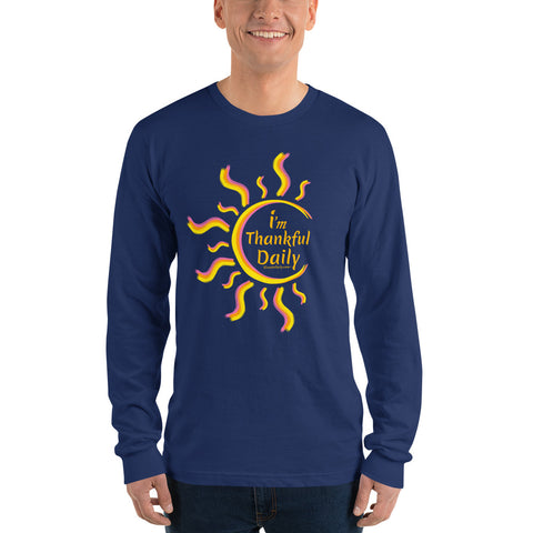 i'm Thankful Daily Long sleeve t-shirt (unisex)