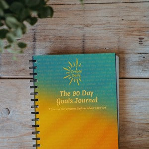 The 90 Day Goals Journal - 4 Journal Bundle (Saving $9 total)