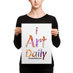 iArtDaily Wall Art Canvas