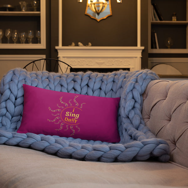 iSingDaily - Decorative Pillow