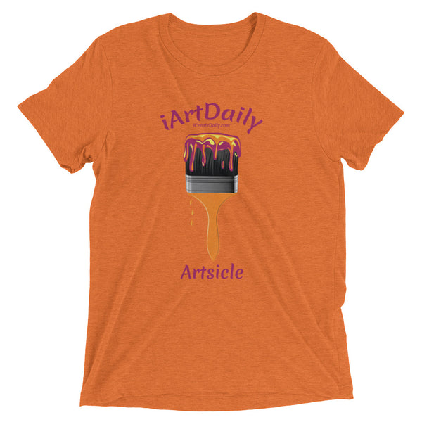I Art Daily Purple Short sleeve t-shirt