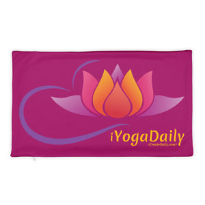 iYoga Daily Flower 18x18 Basic Pillow Case only