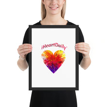 iHeartDaily - Framed photo paper poster