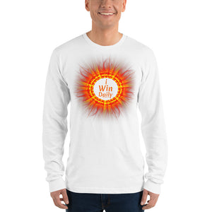 I Win Daily Long sleeve t-shirt (unisex)
