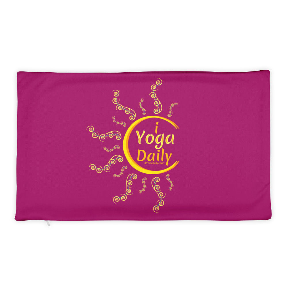 iYoga Daily 20x12 Basic Pillow Case only