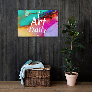 I Art Daily Canvas