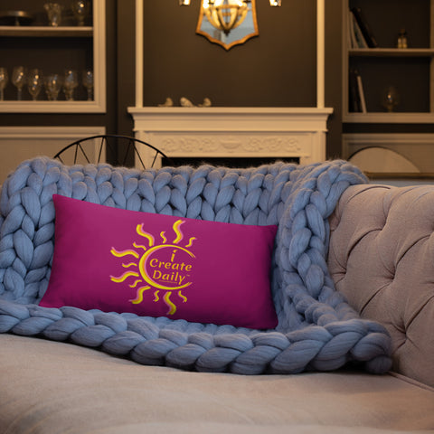 iCreateDaily - Decorative Pillow