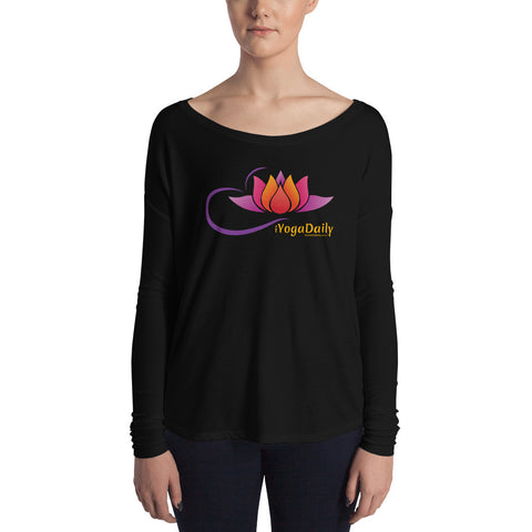 iYogaDaily Ladies' Long Sleeve Tee