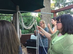 Monday, January 21st - Macrame Plant Hanger Class for Kristin & Friends