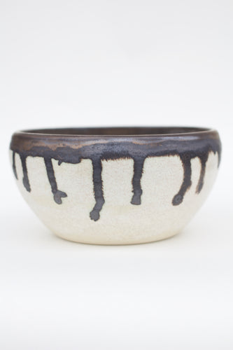 Retro-Modern Handmade Ceramic Pot