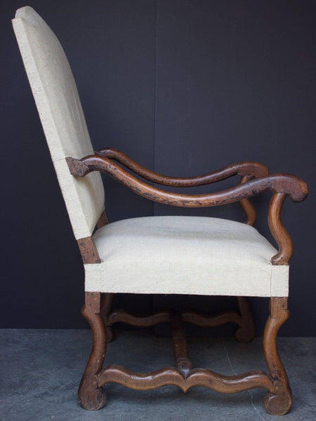 18th Century French Louis XIV Armchair Seating Jacques Antiques