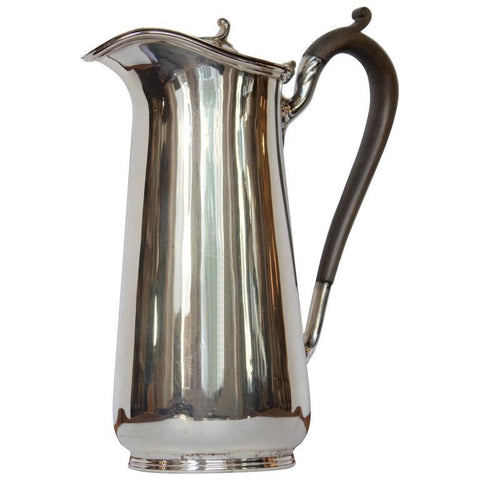 Antique English Hot Chocolate or Coffee Pot Serveware, Ceramics, Silver and Glass Jacques Antiques
