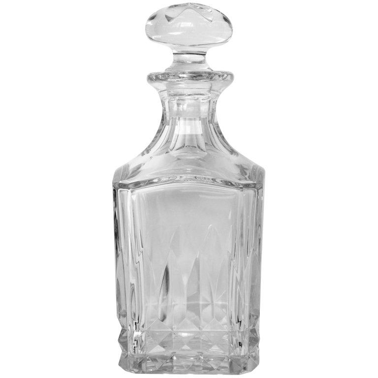 Baccarat Crystal Whisky Decanter Serveware, Ceramics, Silver and Glass Jacques Antiques