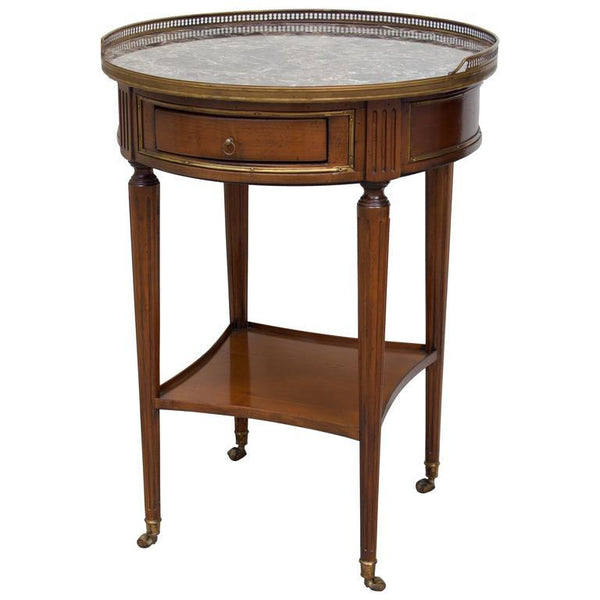 Directoire Style Gueridon with Marble Top Tables Jacques Antiques