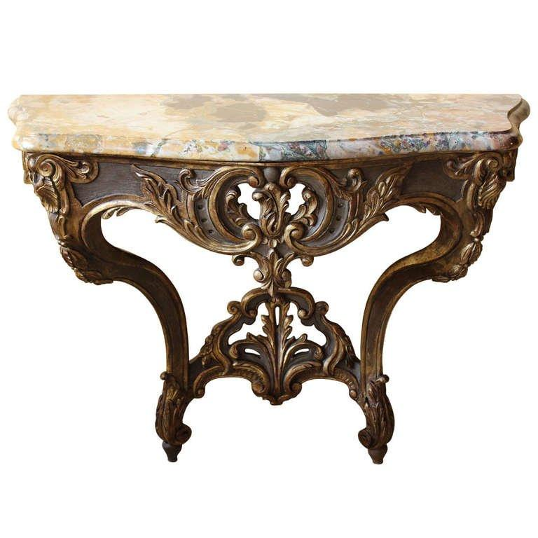 French 18th Century Louis XV Console Table Tables Jacques Antiques