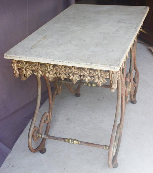 French Butcher Display Table -ON HOLD- Tables Jacques Antiques