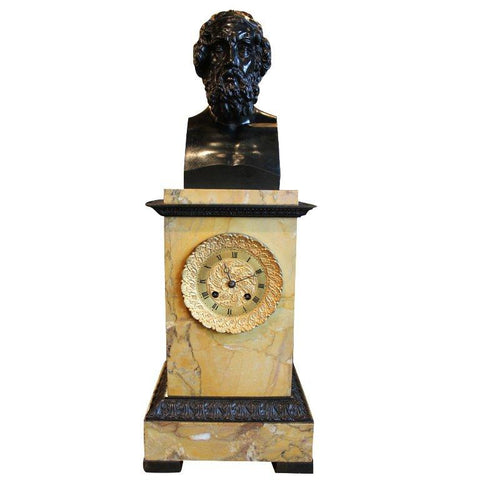 French Hermaic Clock Clocks Jacques Antiques