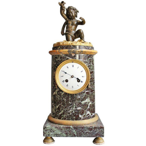 French Mantel Clock Clocks Jacques Antiques