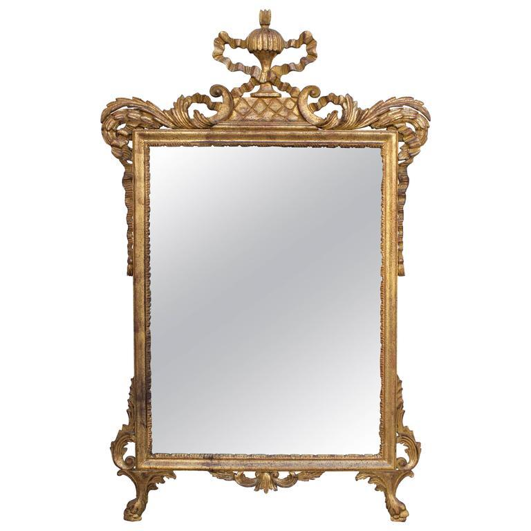 Italian Carver Giltwood Mirror Mirrors Jacques Antiques