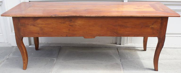 Large Antique French Provincial Louis XV Style Cherry Desk Tables Jacques Antiques